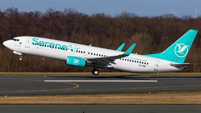 A picture of APBND - Boeing 7378GJ - Serene Air - © Moritz Klöckner