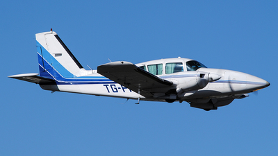 TG-PAF - Piper PA-23-250 Aztec F - Private