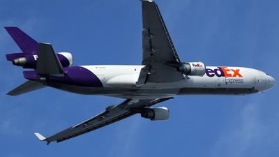 N580FE - McDonnell Douglas MD-11(F) - FedEx