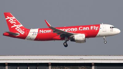 9M-AQY - Airbus A320-216 - AirAsia