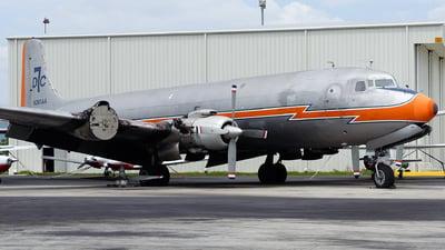 N381AA - Douglas DC-7B(F) - Florida Air Transport