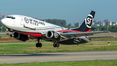 A picture of B2966 - Boeing 73733A(SF) - SF Airlines - © JerryDeng