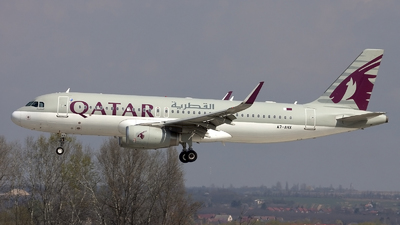 A picture of A7AHX - Airbus A320232 - Qatar Airways - © if