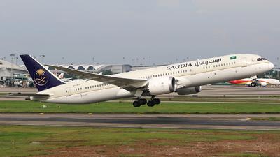 HZ-AR12 - Boeing 787-9 Dreamliner - Saudi Arabian Airlines