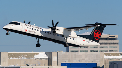 A picture of CGKUK - De Havilland Canada Dash 8400 - Air Canada - © RZ