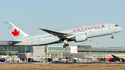 A picture of CGHPU - Boeing 7878 Dreamliner - Air Canada - © Wayne Wilson