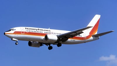 LN-NOR - Boeing 737-33A - Norway Airlines