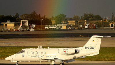 D-CONU - Bombardier Learjet 55 - FAI Flight-Ambulance