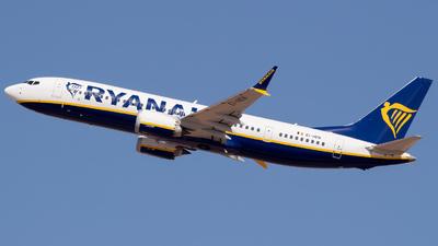 A picture of EIHEN - Boeing 737 MAX 8200 - Ryanair - © Ismael Lopez - PMI Plane Spotting