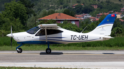 TC-UEH - Tecnam P2008JC - Atilim University