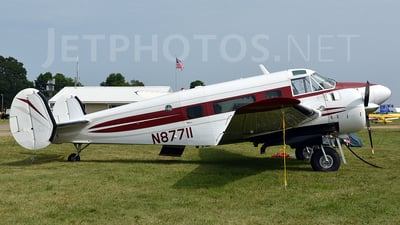 N87711 - Beech H18 - Private