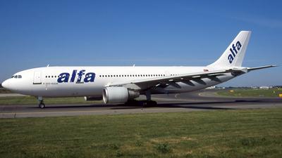TC-ABD - Airbus A300B4-622R - Air Alfa