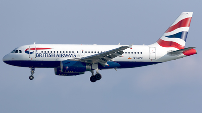 G-EUPD - Airbus A319-131 - British Airways