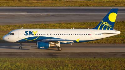 CC-AJG - Airbus A319-112 - Sky Airline