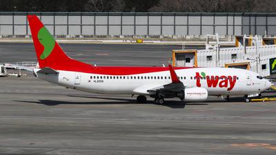 HL8056 - Boeing 737-8AS - T'Way Air