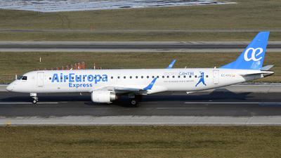 EC-KRJ - Embraer 190-200LR - Air Europa Express