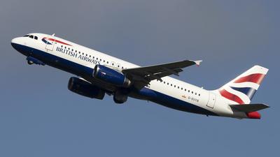G-EUYB - Airbus A320-232 - British Airways