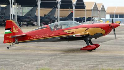 RJF 01 - Extra 330LX - Royal Jordanian Falcons