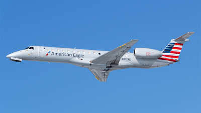 A picture of N812AE - Embraer ERJ140LR - American Airlines - © RZ
