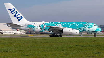F-WWAF - Airbus A380-841 - All Nippon Airways (ANA)