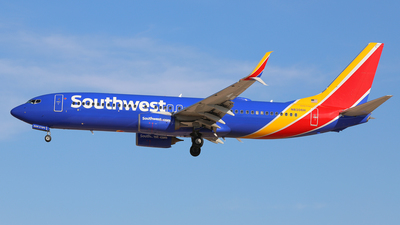 A picture of N8306H - Boeing 7378H4 - Southwest Airlines - © Daniel Klein