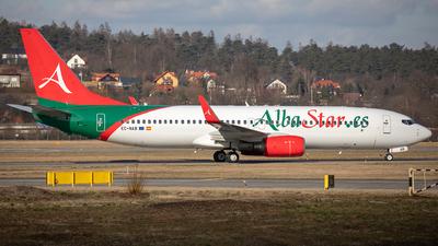 EC-NAB - Boeing 737-81Q - AlbaStar
