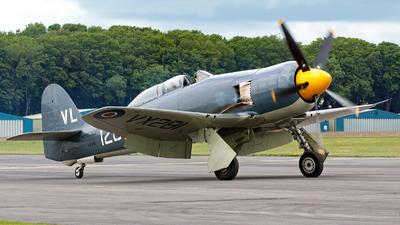 G-RNHF - Hawker Sea Fury T.20 - United Kingdom - Royal Navy Historic Flight