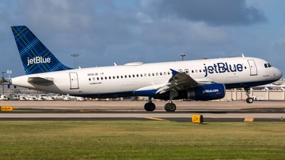 N516JB - Airbus A320-232 - jetBlue Airways