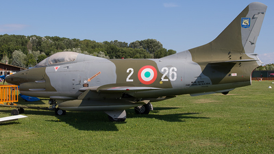 MM6290 - Fiat G91-R/3 - Italy - Air Force