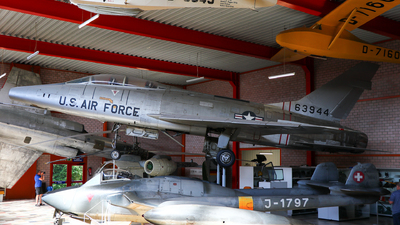 56-3944 - North American F-100F Super Sabre - United States - US Air Force (USAF)