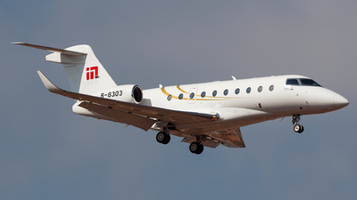B-8303 - Gulfstream G280 - MinSheng International Jet