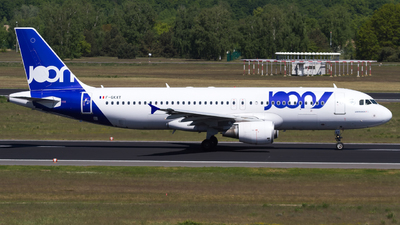 F-GKXT - Airbus A320-214 - Joon