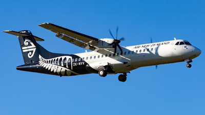 ZK-MVV - ATR 72-212A(600) - Air New Zealand