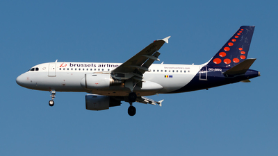 A picture of OOSSQ - Airbus A319112 - Brussels Airlines - © Julian Azeroth