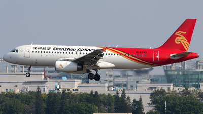 B-6749 - Airbus A320-232 - Shenzhen Airlines