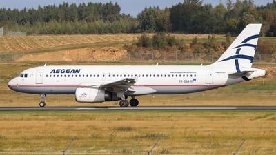 A picture of SXDGB - Airbus A320232 - Aegean Airlines - © Arno Vesterholm