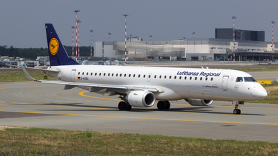 D-AEBQ - Embraer 190-200LR - Lufthansa Regional (CityLine)