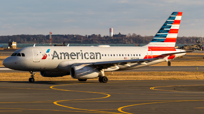 A picture of N832AW - Airbus A319132 - American Airlines - © Alex Crail