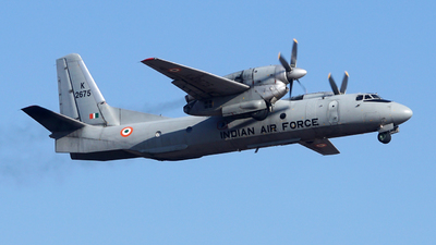 K2675 - Antonov An-32RE - India - Air Force