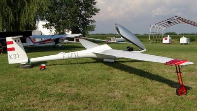 F-CFVL - DG Flugzeugbau DG-300 Elan - Private