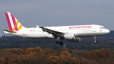 D-AIPU - Airbus A320-211 - Germanwings