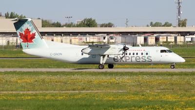 C-GNON - Bombardier Dash 8-301 - Air Canada Express (Jazz Aviation)