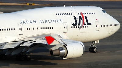 JA8918 - Boeing 747-446 - Japan Airlines (JAL)