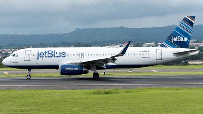 A picture of N821JB - Airbus A320232 - JetBlue Airways - © Jose Villarreal SJO Spotters