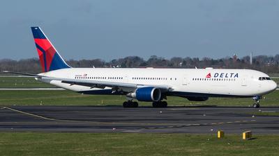 A picture of N830MH - Boeing 767432(ER) - Delta Air Lines - © Oliver Sänger
