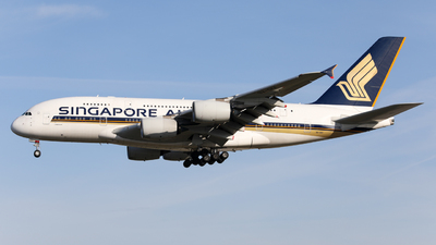 A picture of 9VSKF - Airbus A380841 - Singapore Airlines - © Marvin Knitl