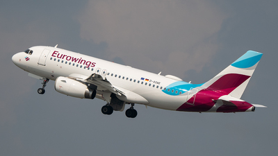 A picture of DAGWE - Airbus A319132 - Eurowings - © Trevor Barker