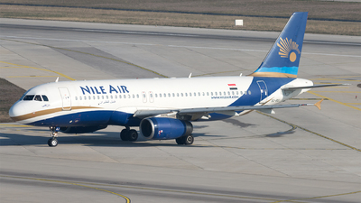 SU-BQJ - Airbus A320-232 - Nile Air