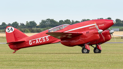 G-ACSS - De Havilland DH-88 Comet - Private