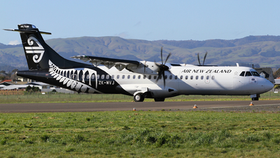 ZK-MVJ - ATR 72-212A(600) - Air New Zealand Link (Mount Cook Airline)